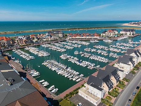 Pr sentation du port de plaisance port guillaume port - Agence du port port guillaume dives sur mer ...